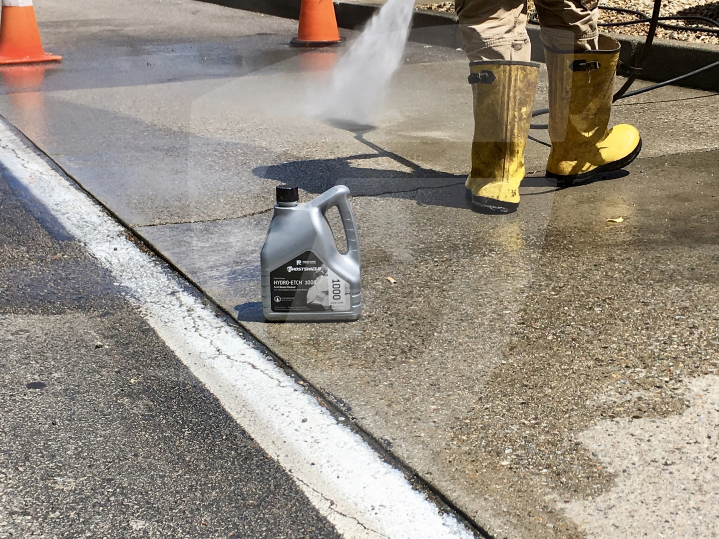 Ghostshield Hydro-Etch 1000 Concrete Sealer