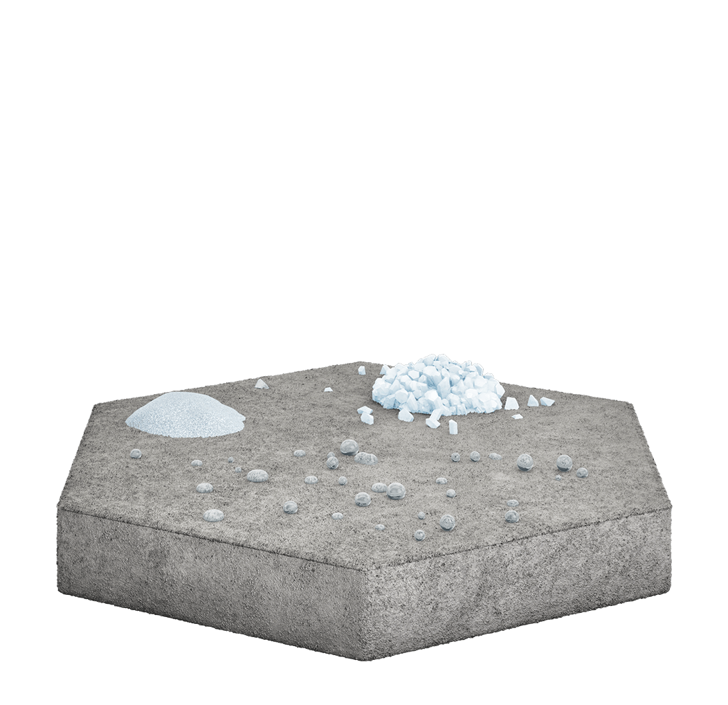 Ghostshield concrete sealers resist water, salt and snow